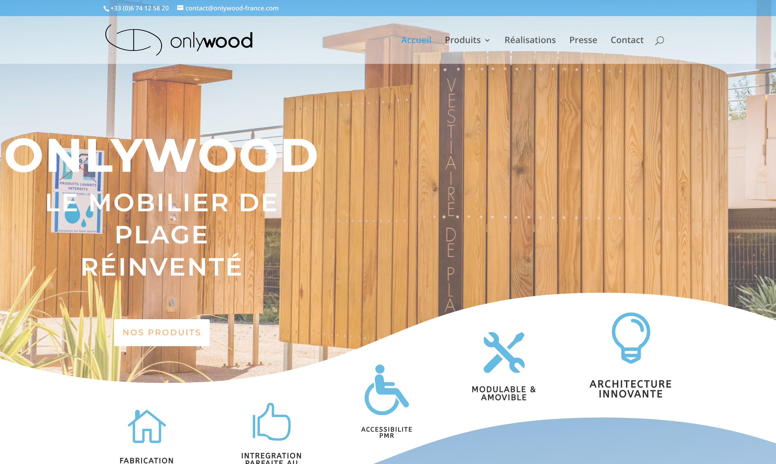 Site Web Onlywood
